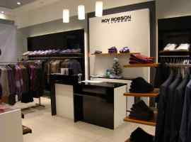 European men's wear shop Roy Robson will be opened in Shopping and entertainment center Respublika