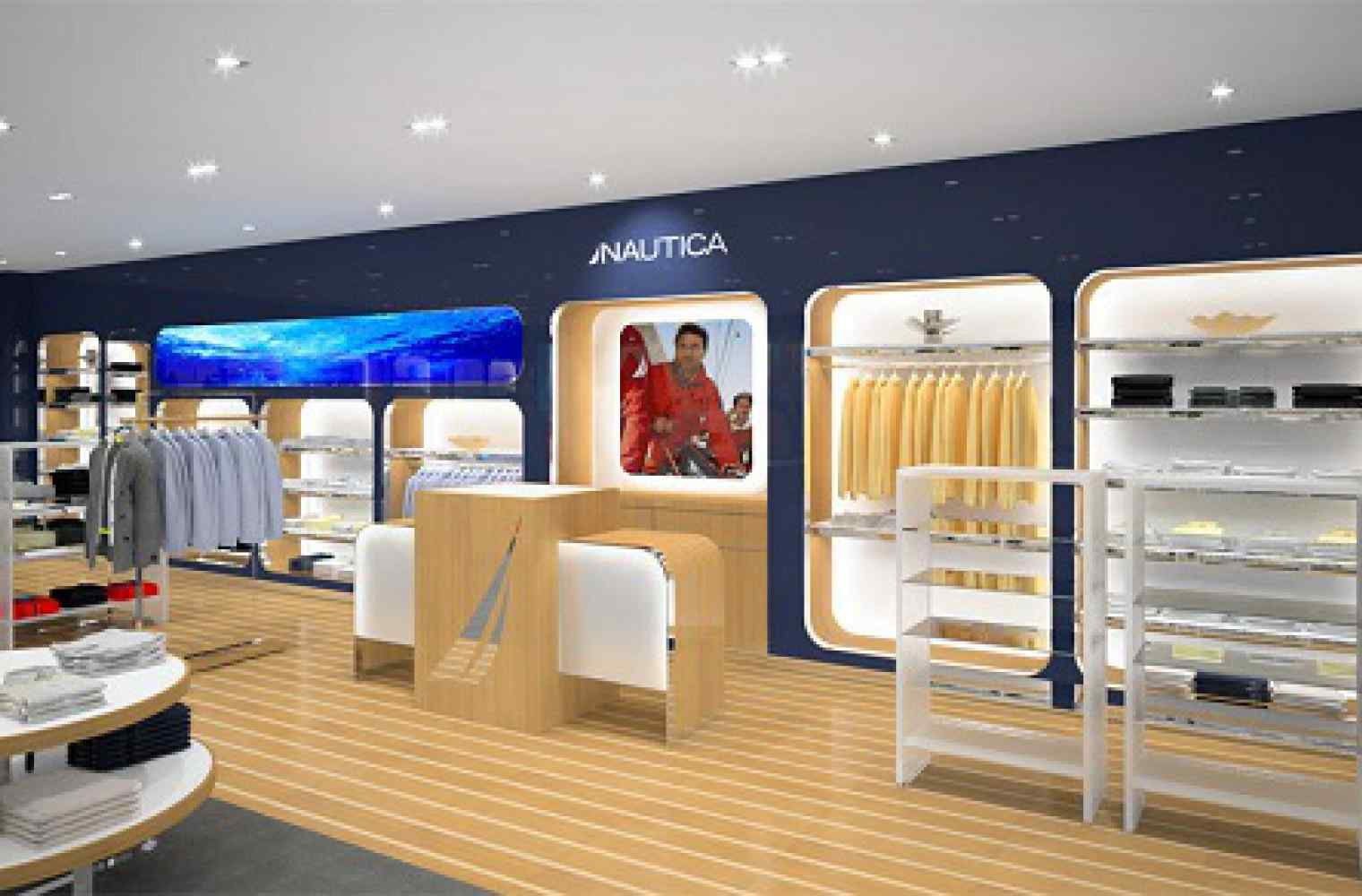 Flagship shop Nautica will be opened in Shopping and entertainment center Respublika