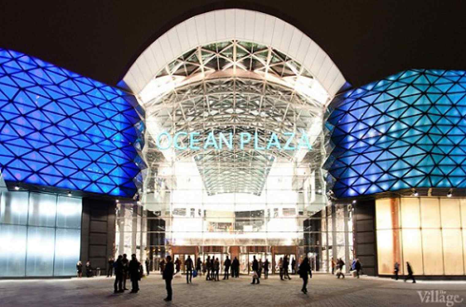 Opening of shopping and entertainment center Ocean Plaza took place