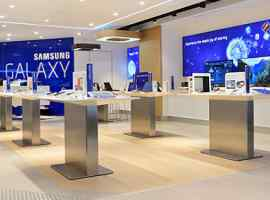 Innovation brand-shop Samsung Electronics will be opened in Shopping and entertainment center Respublika