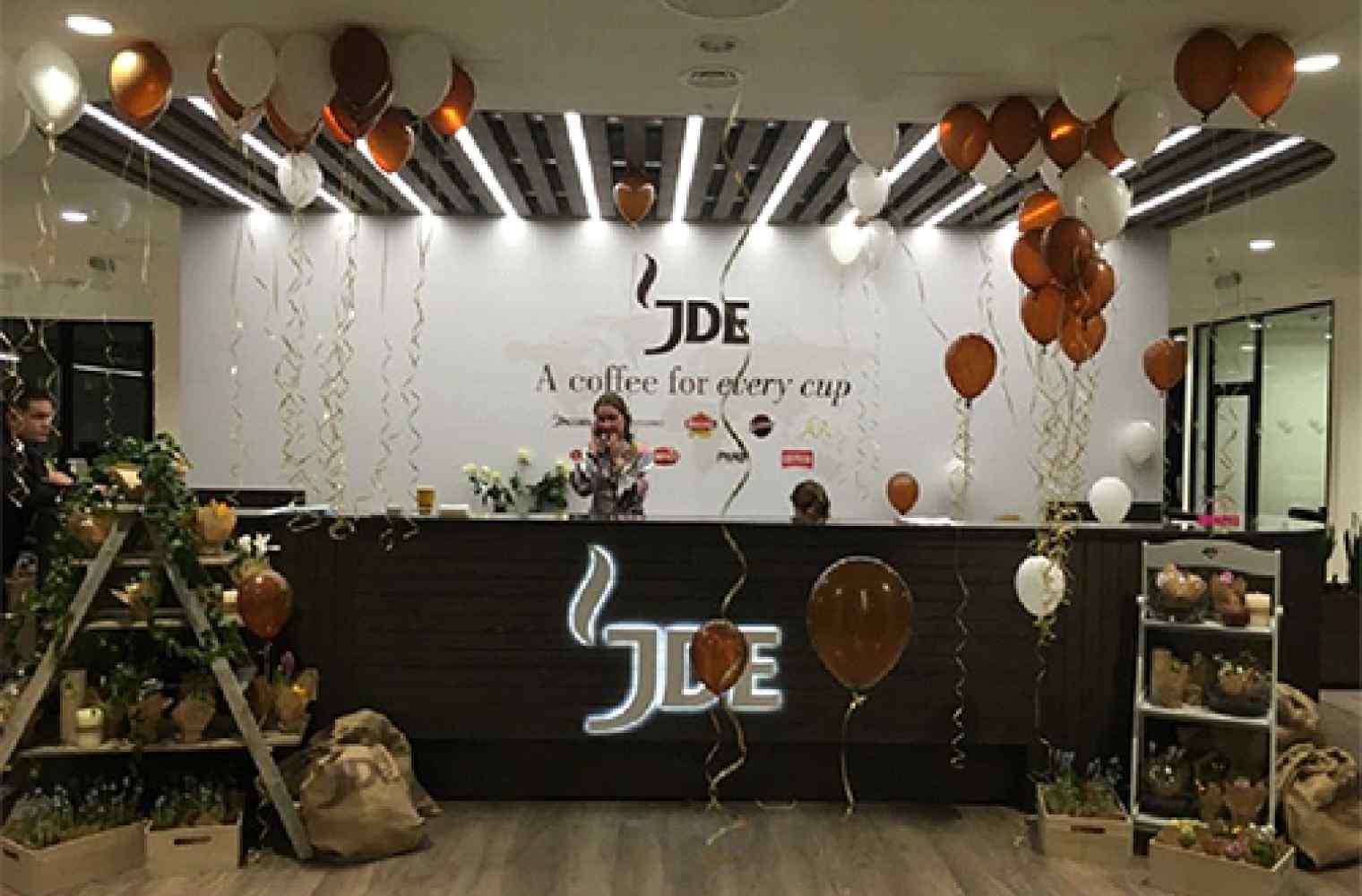 The central Ukrainian office of company Jacobs DouweEgberts placed in the IQ Business Centre