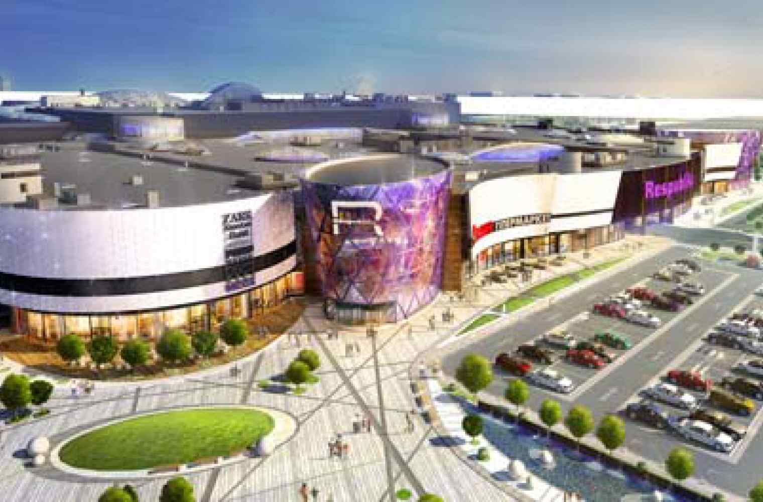 Seven shops of Inditex Group will appear in Shopping and entertainment center Respublika at once