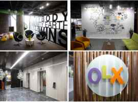OLX company has opened a new Ukrainian office in the IQ Business Center