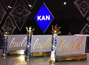 KAN got new awards from iBuild