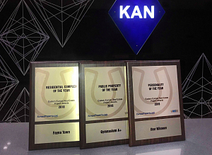 KAN got three awards within EE Real Estate Project Awards 2018