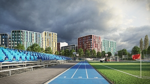 KAN is actively developing the Academy of Sports A+ at Respublika residential complex